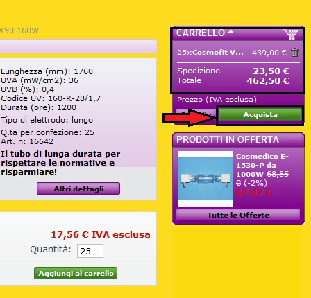 acquisto on line fase 2